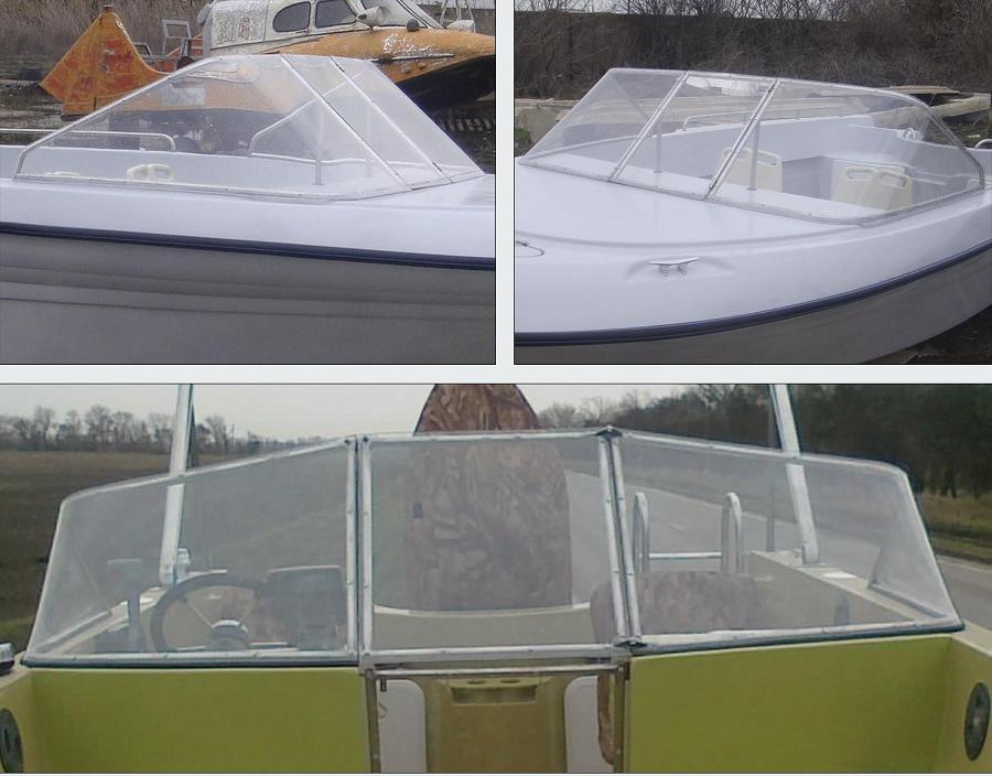 изготовление ветрового стекла на лодку своими руками