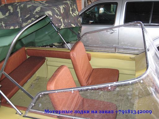 пластиковая моторная лодка касатка 440