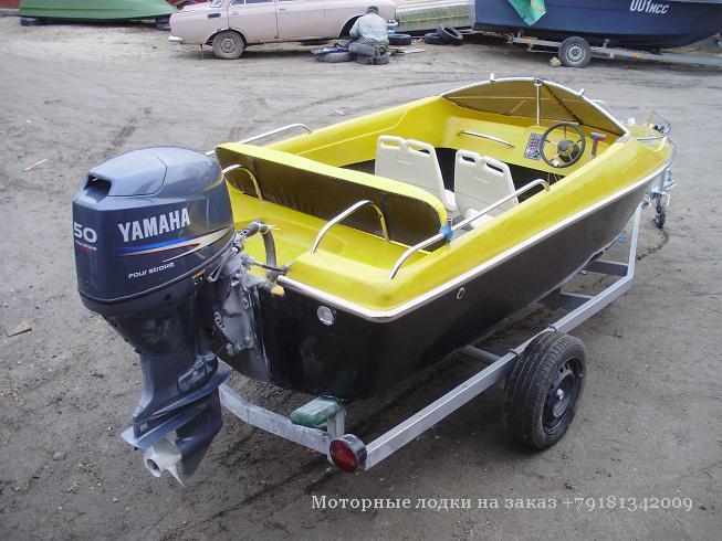 заказ двигателей на лодку