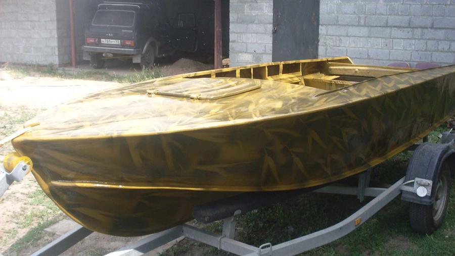 ттх стеклопластиковой лодки